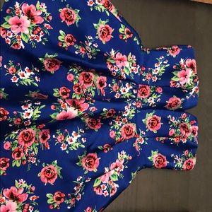 A spring time formal dress
